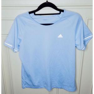 Tops - Blue Adidas Active Shirt